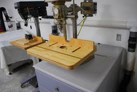 Drill Press Table Simple Drill Press Table Jigs Router Forums