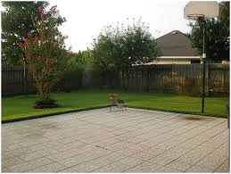 backyards cozy backyard basketball court dimensions outdoor
