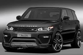 land rover black 2016 official caractere exclusive range rover gtspirit