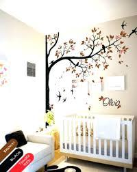 Nursery Room Tree Wall Decals Nursery Room Tree Wall Decals Wall Decor Yellow And Grey Owl
