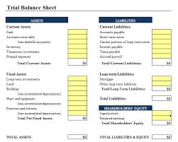 business balance sheet template excel 9 balance sheet formats in