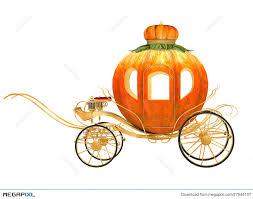 cinderella pumpkin carriage cinderella fairy tale pumpkin carriage illustration 27944197