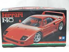 model f40 vintage tamiya 1 24 f40 model kit 24077 ebay