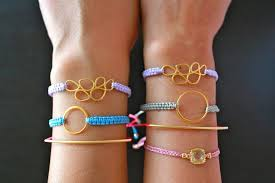 bracelet diy macrame images Easy diy macrame bracelets with nylon cord or waxed cotton cord jpg