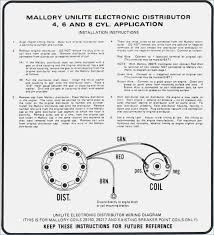 mallory distributor wiring diagram davehaynes freeme us