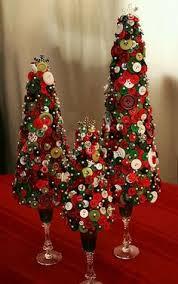 such a cute idea a button christmas ornament craft ideas