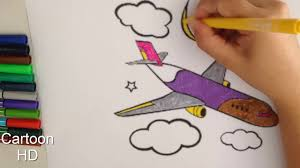 airplane coloring pages for kids children color airplane