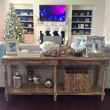 How To Make End Tables by Best 25 Table Behind Couch Ideas On Pinterest Behind Sofa Table