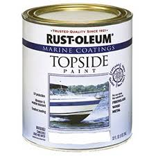 amazon com rust oleum 206999 marine topside paint white 1 quart