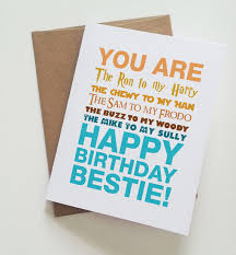 birthday card for best friends geeky best friend birthday card harry potter wars