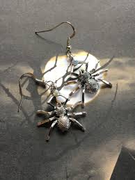 halloween jewelry halloween earrings spider earrings halloween
