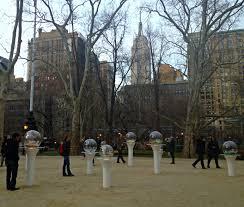 Gazing Globes I Heart Public Art Gazing Globes In Madison Square Park