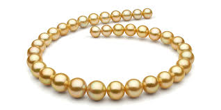 gold pearls necklace images Golden south sea pearl necklaces free returns free shipping no jpg