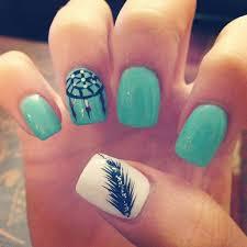 15 feminine feather nail designs for 2016 pretty designs