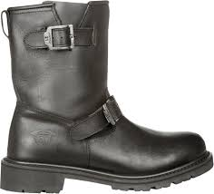 mens black leather riding boots 134 95 highway 21 mens primary low engineer leather 218274
