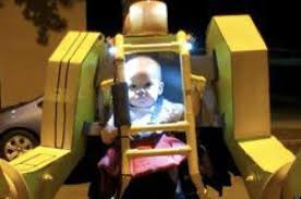 power loader u0027 halloween costume features dad and baby ready to