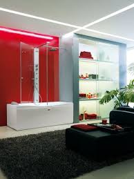 Rugs With Red Accents Bathroom Designs With Red Accents
