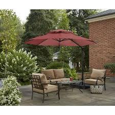 Lowes Patio Umbrella Offset Patio Umbrella Patio Umbrellas And Umbrellas On Pinterest