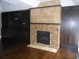 How To Install A Fireplace Extraordinary Ceramic Tile Fireplace Design How To Install A Or
