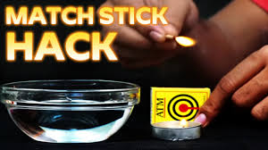 Easy Life Hacks Easy Tricks You Can Do With Matchsticks Matchstick Life Hacks