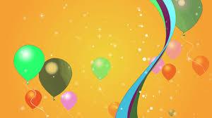 happy birthday balloon background hd