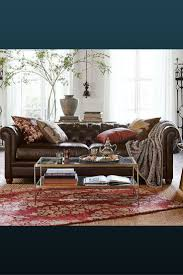 best 25 pottery barn leather sofa ideas on pinterest leather