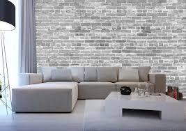 papier peint leroy merlin chambre ado papier peint brique loft mur de brique interieur loft