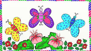 drawing simple butterfly how to draw butterfly drawing for