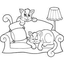 comment dessiner un canapé coloriage à imprimer magicmaman com