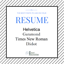 The Best Font For Resume by International Trade Jobs Archives Pisani Recruiting
