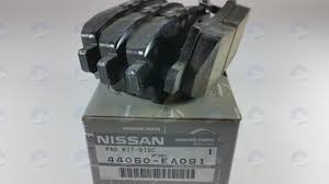 nissan genuine accessories malaysia nissan oem 44060ea091 brake pad or shoe rear disc brake pad 44060
