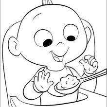 incredibles coloring book pages free disney printables 23040