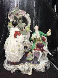 Antiques Decorative 179 Best Volkstedt Porcelain Figurines Images On Pinterest