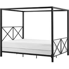 Black Canopy Bed Modern U0026 Contemporary Chrome Canopy Bed Allmodern