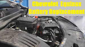 chevrolet equinox battery replacement the battery shop youtube
