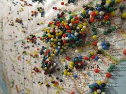 Map Pins Map Pins Visitors Mark Where They U0027re From In Jonas U0027 Galler U2026 Flickr