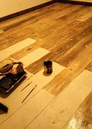 Laminate Flooring On Concrete Slab Concrete Floor Stained To Look Like A Wood Floor I Love This