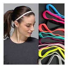 football headbands 100pcs lot sports elastic headband anti slip sweatbands headbands