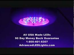 usa made led grow lights 120w led grow light all usa 3w leds led ufo youtube