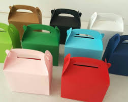5 large kraft gable boxes favor boxes gift boxes cookie