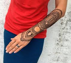sleeve henna tattoo best henna design ideas