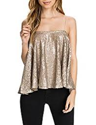 new years tops golds tanks camis tops tees clothing shoes