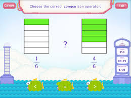 compare fractions with same denominators worksheets 3rd grade math