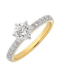 yellow gold engagement ring diamond ring yellow gold engagement ring 763385 salera s