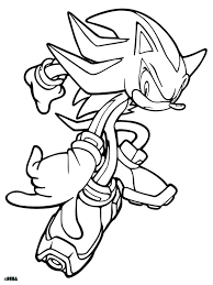 Super Sonic Coloring Pages Free Printable Super Sonic Coloring Pages Free Sonic Coloring Pages