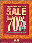 OG Post Lunar New Year Sale | Fashion | Great Deals Singapore