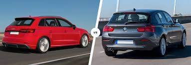 bmw series 1 saloon audi a3 vs bmw 1 series hatchback comparison carwow