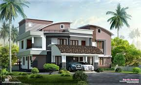 modern style luxury villa exterior design kerala home design and