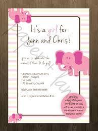 baby shower invitations for girls invitations ideas