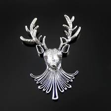 Deer Head by Online Get Cheap Deer Head Pendant Aliexpress Com Alibaba Group